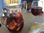 Enjoy a jug of Sangria to share for €10.