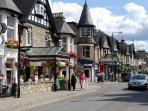 Pitlochry, 10 minute drive