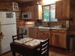 Fully-equipped kitchen, ice maker, cooktop range/oven/MW. Everything u'll need while here.