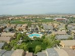 View of The Villagio complex and the Cubs Training Grounds directly across the street.