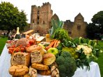 Visit Ludlow Castle and Food Festivals