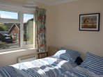Guest bedroom with view of Kellings Heath