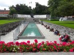 1916 GARDEN OF REMEMBRANCE -  Parnell Square