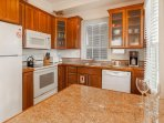 Kitchen includes breakfast bar