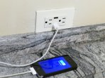 Cool new addition: usb chargers built into power outlets, 2 downstairs, 1 in Master Bedroom.