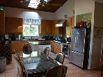 Kitchen with Viking gas cooktop