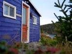 East Coast Newfoundland Barn on the Sea