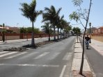 Avenida de Fuerteventura,close to the residential