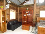 Interior Scrub Turkey Cabin