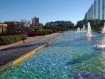 Parque de El Canal, parque público. Escuela de Golf, Pádel y Pista Atletismo de 1200 metros.