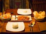 Rumah Sumatra dinner