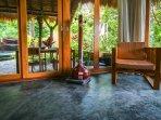 Rumah Sumatra living room