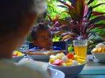 Rumah Sumatra breakfast