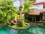 Rumah Sumatra front of property