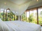 Rumah Sumatra master bedroom