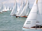 Exciting yacht racing throughout the year