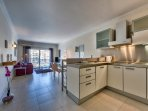 Kitchen/dining/Living - on Spinola Bay .