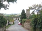 Dunsford village, nestled in the Teign valley