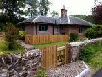 Gate Lodge, Bamff, deep in countryside, only 2 miles from Alyth. Ideal for beaver watching & walking