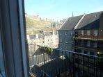 view towards Edinburgh Castle