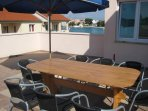 Apartment for 8+2 Person, 4 rooms, three bathrooms, 3 balcony + terace 50m2 with sea-wiew, wi-fi