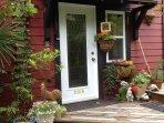 Magnolia Petal Accommodation Entrance