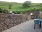 Terrasse vue sur la Colline