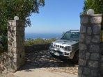 Motor entrance from Via Cagliari
