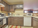 Lets this fully equipped kitchen become your culinary workplace.