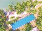 Communal Pool by the Beach Club
