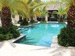 Pool area located at Las Verandas.