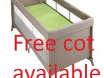 A free cot is supply