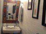 upstairs half bath/water closet!