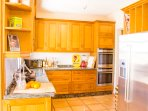 Kitchen/diner with 2 ovens, 2 fridge/freezers, 2 dishwashers and many more appliances