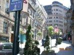 Calle del edificio