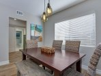 Unit A: dining room seats 6 or more