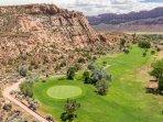 Magnificent Moab Golf Course - a public course!