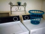 Washer and dryer in house for your convenience.