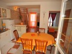 Equipped Kitchen with Dining Table