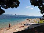 One more beach 50 m from the house, toward Zlatni Rat beach