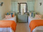 Bright and fun twin bedroom