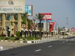 Access to the Residence through Al Khan on the left. Cafes and shopping at La Strada.