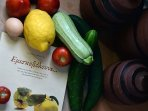 Garden goods on Eleni`s book