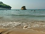 Apotripiti beach, easy accessible, ideal for families