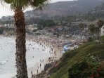 Beach veiw at Laguna Beach 1 block away