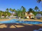 Pool area in Palmas Doradas