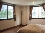 Bedroom with Kingsize Bed and air conditioner
