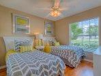 Twin Bedroom with SMART TV