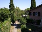 Vista giardino interno Villa