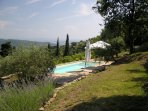 Tuscany: expansive views to enjoy while you relax by the pool